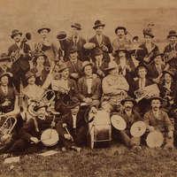 1892 i componenti della banda