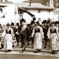 1959 Sfilata a Predazzo