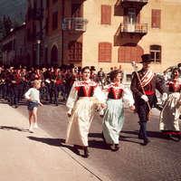 1961 Sfilata a Moena