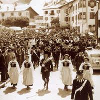 1963 Sfilata a Moena