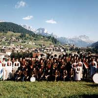 1990 Il gruppo in localita' Spinac
