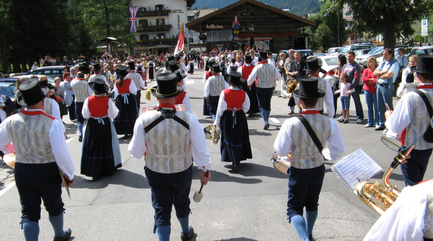 Sfilata alla Gran Festa d'ista'